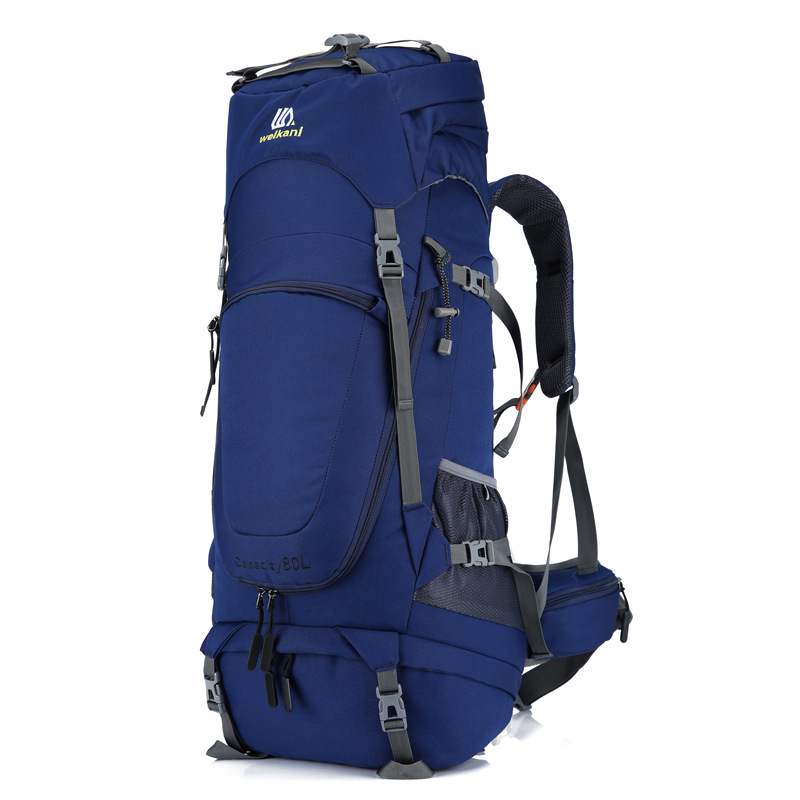 Unisex 80L Waterproof Men Backpack Travel Pack Sports Bag Pack Outdoor Camping Mountaineering Hiking Climbing Backpack For Male