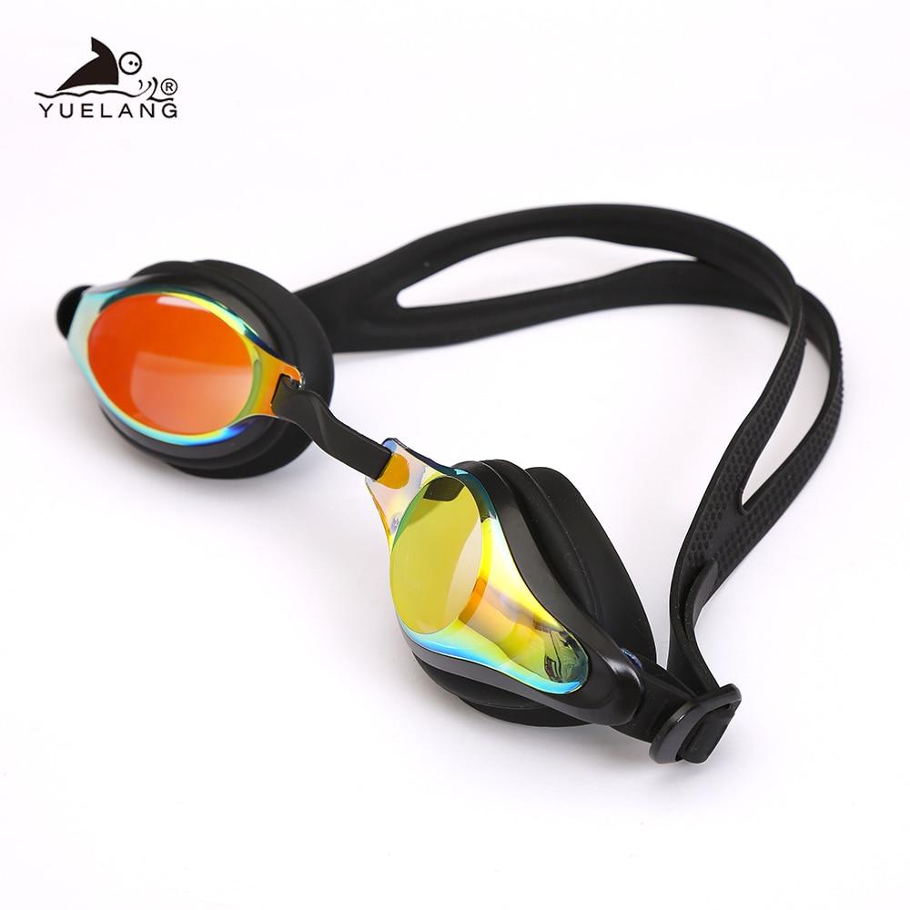 Professional Men Women Swimming Goggles Anti Fog Leak UV Protection Swim Eyewear Adjustable Adult Glasses For Swimsuit Sport