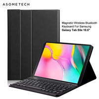 SMT720/T725 Wireless Bluetooth Keyboard For Samsung Galaxy Tab S5e 10.5'' Magnetic Tablet Backlit Keyboard Protective Case Cover