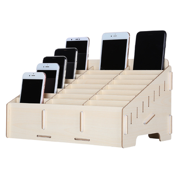 Multifunctional Wooden Storage Box for iPhone Samsung Huawei Electronic Components Motherboard Container Phone Repair Tools image