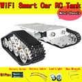 RC Serbatoio Car Chassis con Cuscinetti Crawler Intelligente Barrow carico Tractor Ostacolo Caterpillar wall e Giocattolo FAI DA TE Kit