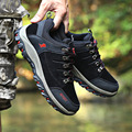 2017 New Arrivals Mens High Quality Casual Shoes Fashion Breathable Flat Nubuck Leather Round Recreational Men Shoes Size 39-44