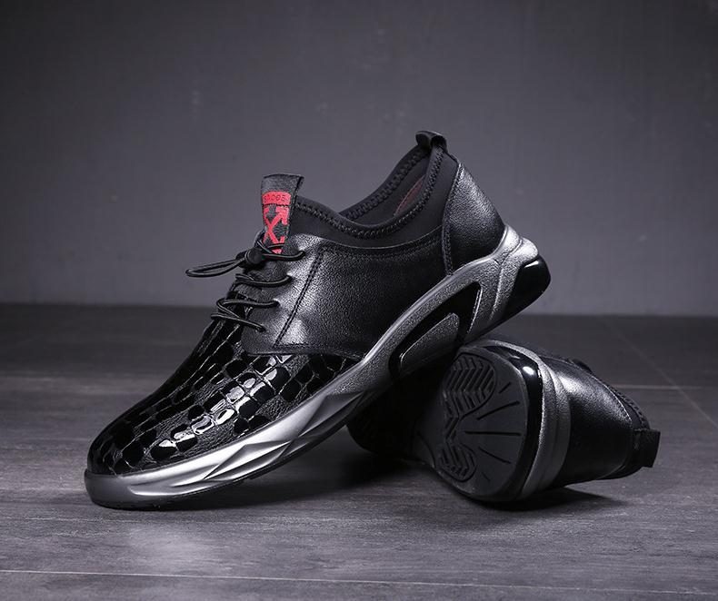 De Moda Design Festa Diária Luxo Da Sapatilha Desporto Livre Sapatos Genuíno Black white Lazer Homens Ao Ar Casual Marca Homem Couro Nova Dos dSwPqSX