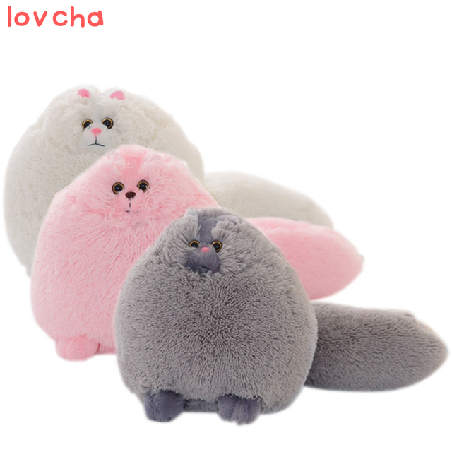 Lovcha 50cm Fluffy Cats Persian Cat Toys Pembroke Pillow Soft