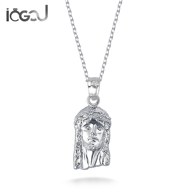 Iogou fashion 925 sterling silver jesus men women pendants party iogou fashion 925 sterling silver jesus men women pendants party christ charm pendants for necklace hip aloadofball Image collections