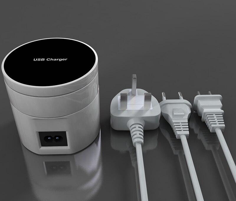 Thbelieve 10 USB настенные зарядные устройства 5 в Быстрая зарядка 10 USB многократная зарядка мобильного телефона настольное зарядное устройство Пр