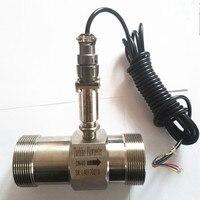 PLC воды расходомер diesel жидкость для расходомера турбины датчик расхода передатчик lwgy 40 резьбовое соединение