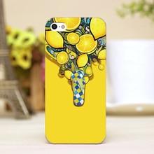 pz0033 2 Graphic AD 3d Design cellphone transparent cover cases for iphone 4 5 5c 5s
