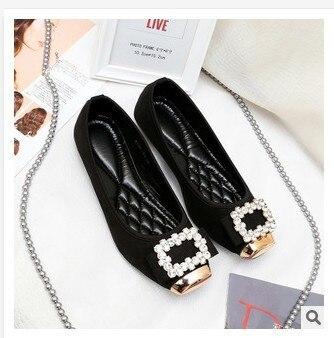women genuine leather famous woman Shoes Woman Brand Flats Shoes Women New Womens Flats 2014 Rhinestone Flat Shoe Spring Autumn