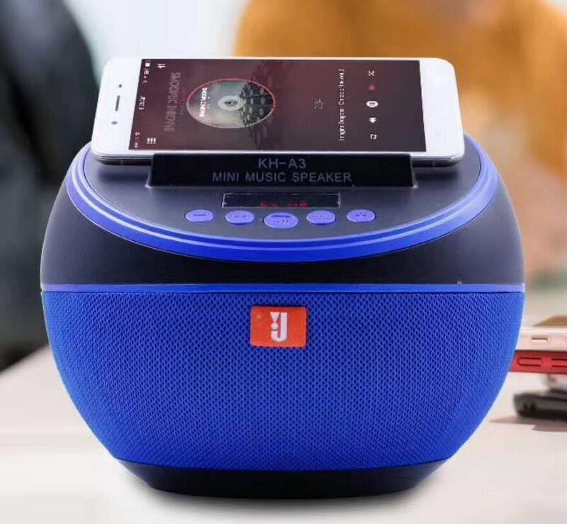 1Portable Bluetooth Speaker Subwoofer Speakers Wireless Speakers Sound System Music Surround With Mic TF Card