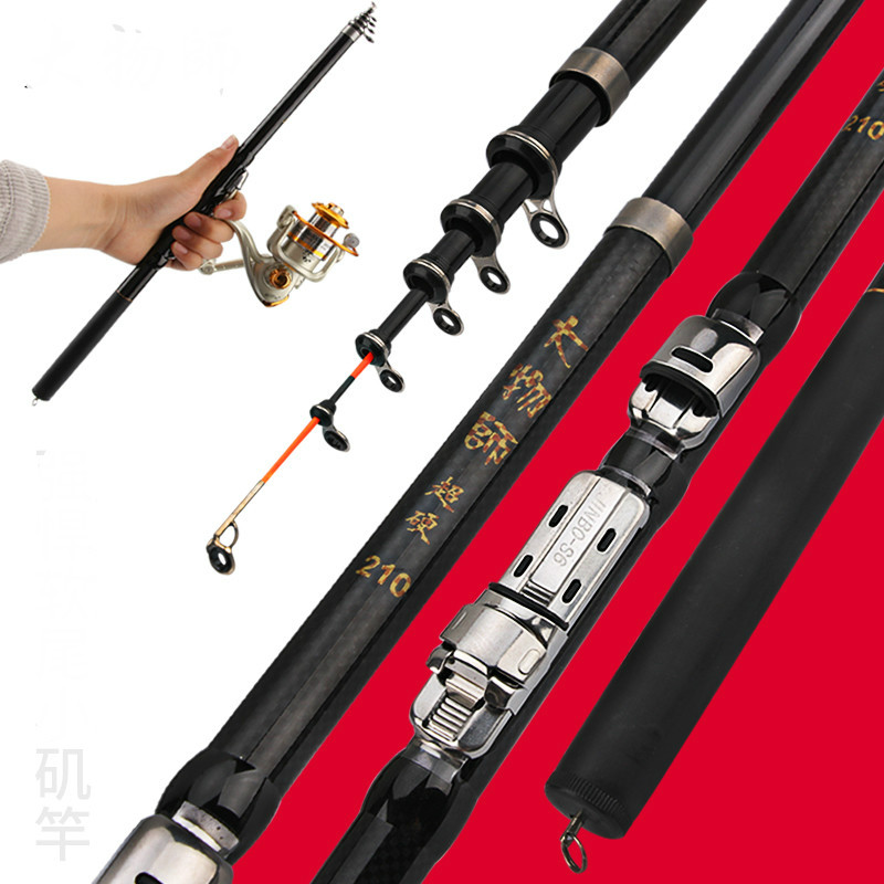 Mini Rock Fishing Rod Super Light and Super Hard Fishing Rod Portable and Telescopic Fishing Pole Sea Pole Fishing EquipmentsMini Rock Fishing Rod Super Light and Super Hard Fishing Rod Portable and Telescopic Fishing Pole Sea Pole Fishing Equipments