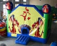 Надувная батутная площадка для парка развлечений