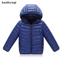 Kids Coat 2018 Autumn Boys Jacket For Boys Children Down Cotton Clothing Hooded Outerwear Baby Boy