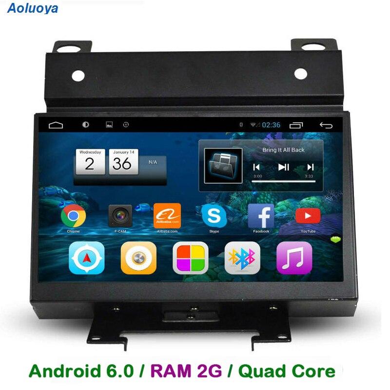 Aoluoya RAM 2 GB Android 6.0 lecteur DVD GPS de voiture pour Land Rover Freelander 2 II 2007-2012 Radio GPS Navigation multimédia WIFI 3G