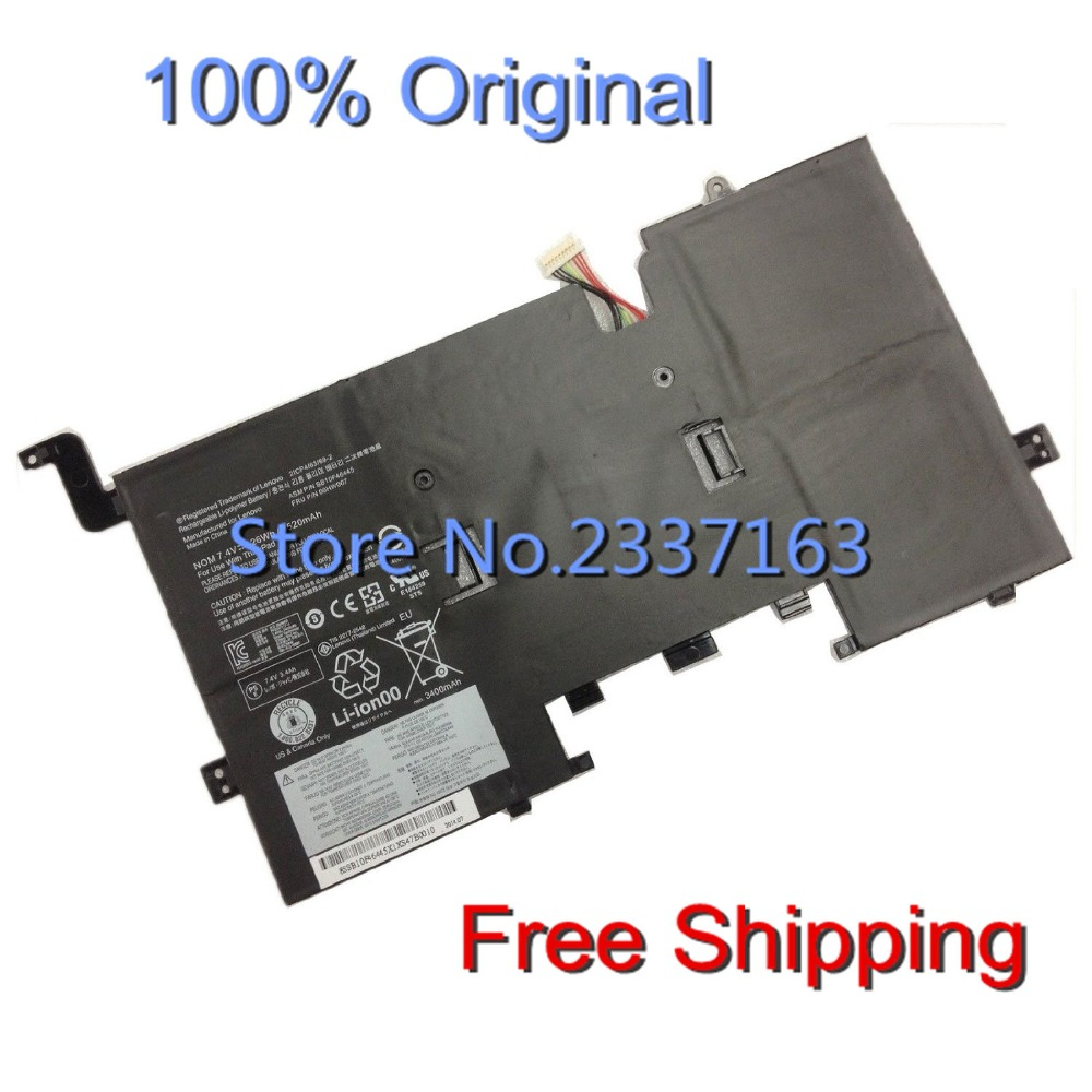 IECWANX 100% new Laptop Battery 00HW007 (7.4V 26Wh 3520mAh) for LENOVO THINKPAD Helix SB10F46445