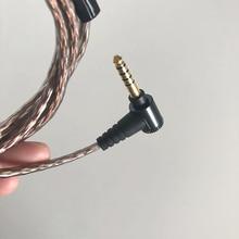 4FT/1.2 m מאוזן 4.4mm אודיו כבל MUC M12SB1 עבור סוני XBA אוזניות