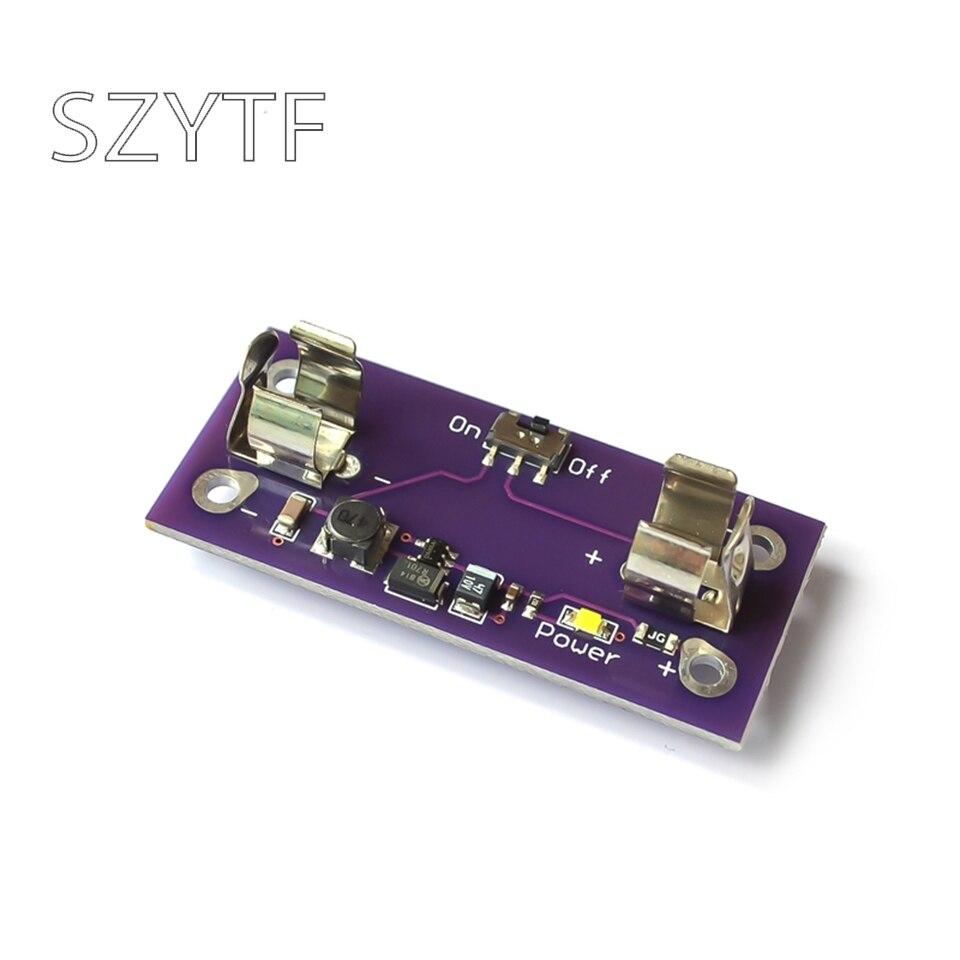 LilyPad Power Versorgung Modul AAA Batterie Schritt bis zu 5V Converter für Arduino