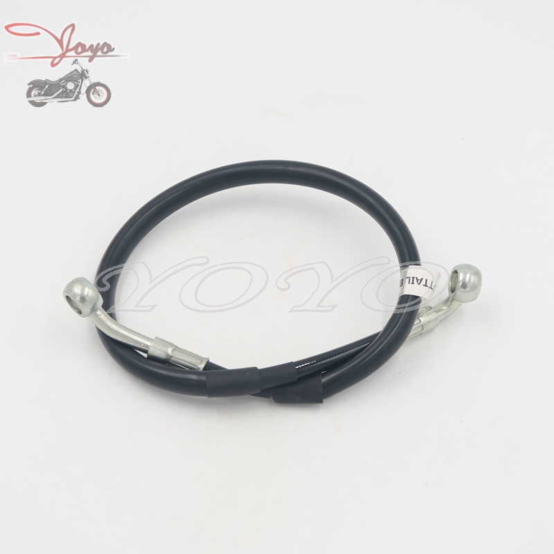 Rear Second article Hydraulic Brake Hose Motorcycle Brake Pipe Tubing For Harley Softail Slim Heritage Classic CVO Deluxe