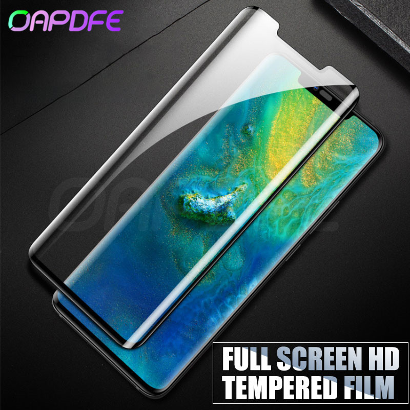 3D Curved Edge Tempered Glass For Huawei Mate 20 Pro Screen Protector Protective Glass Full on For Huawei Mate 20 Lite 20 X 20X-in Phone Screen Protectors from Cellphones & Telecommunications