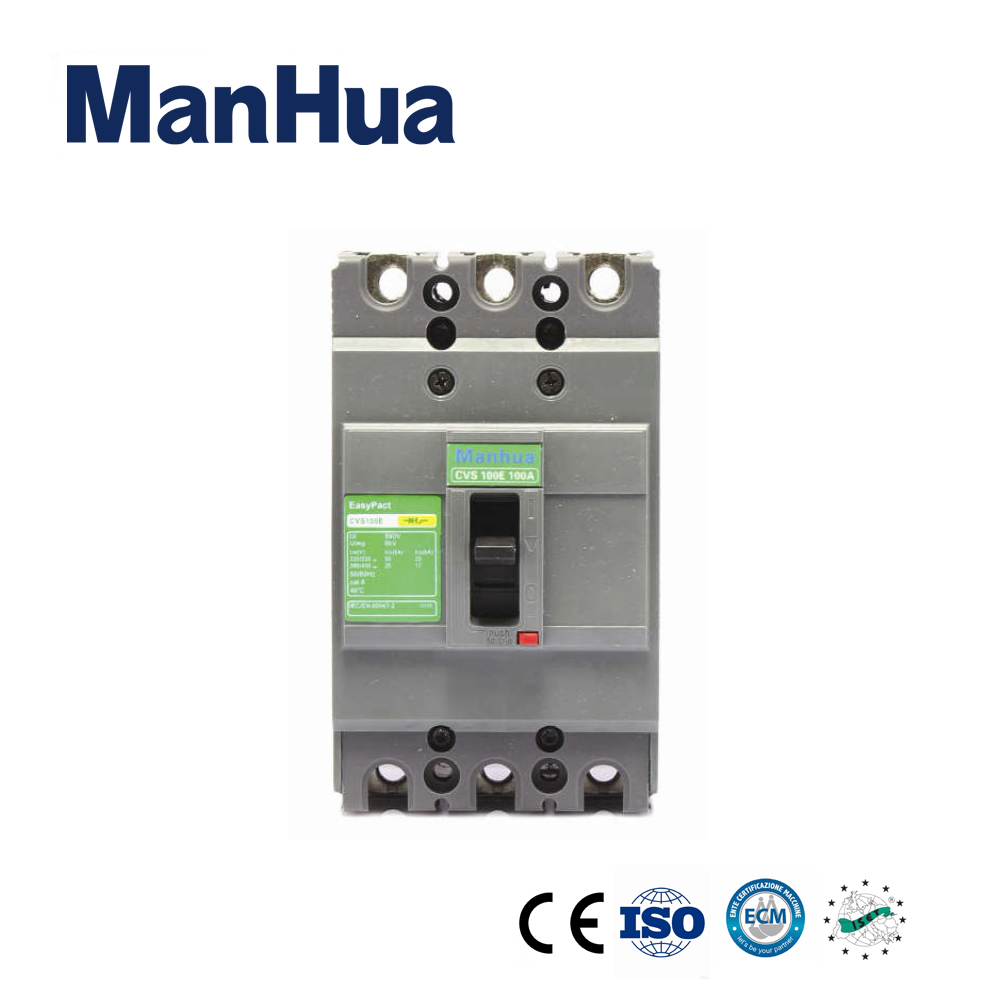 Manhua3P 400V Electrical CVS-400F Three Phase Relay Protection Voltage Moulded Case Circuit Breaker 400a 3p 220v ns moulded case circuit breaker