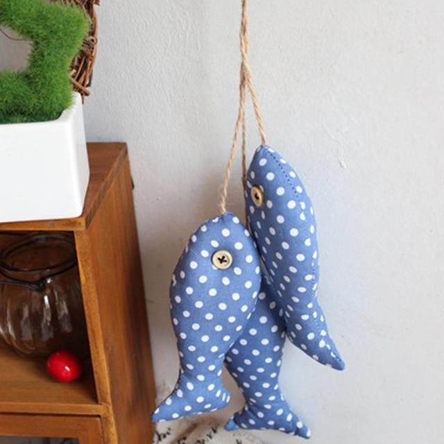 3pcs/set DIY Living room bedroom TV background Hangings Decoration fish shape Wall hanging