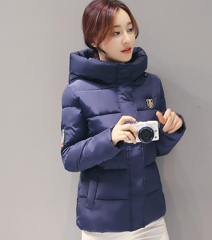 2017 Winter Version Of The New South Korean Edition Of Cotton Dress, Short Dress And A Large Size Cotton Padded Jacket. textiles and dress of gujarat