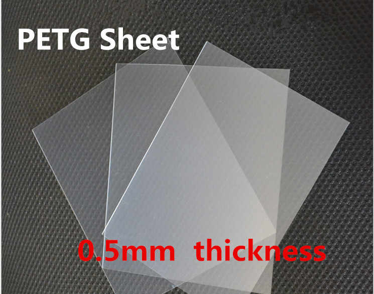 0 5mm Thickness Petg Sheet Lucency Petg Panel High Transparent Plastic Board Excellent Environmental Performance Aliexpress