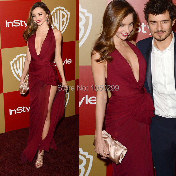 Weddings & Events Sexy V-neck Sleeveless Pink Celebrity Dresses Inspired By Miranda Kerr 2019 New Short Front Long Back Red Carpet Prom Dress