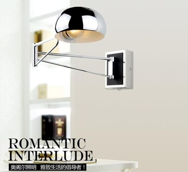 Swing Modern Wall Lamps Led Sconce Bedside Lights Reading Bedroom Ajule Mounted Indoor Light