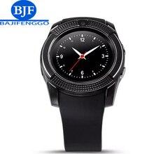 Hombres Mujeres Reloj Inteligente Para Android Apoyo TF Tarjeta Sim Bluetooth Q7 Smartwatch DZ09 IPS Checo Holandés Árabe Rusia etc PK Q18 GT08
