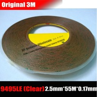 3M 2 5mm 55M 0 17mm Double Adhesive Clear Tape Super Strong 300LSE For Samsung Galaxy
