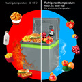 25L Car Home Portable Thermoelectric Fridge 12V Cooler Box Warmer Dual Purpose High Capacity Travel Refrigerator
