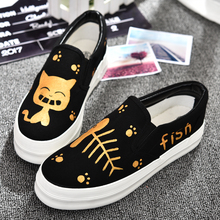 Free shipping Spring new heavy bottomed muffin increased canvas shoes casual shoes