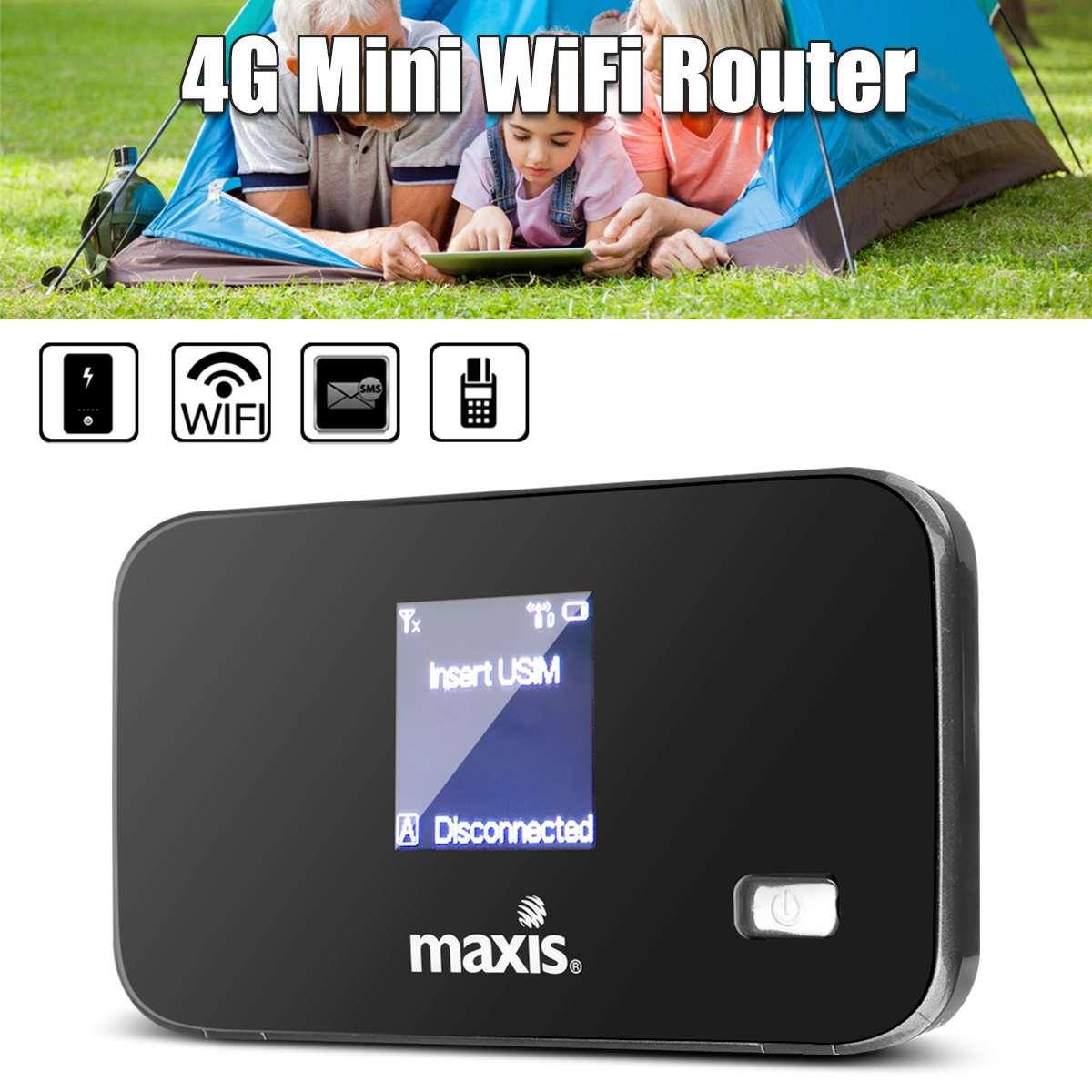 3G 4G LTE routeurs Portable sans fil Mobile Hotspot routeur SIM TF carte Slot pour téléphone Portable