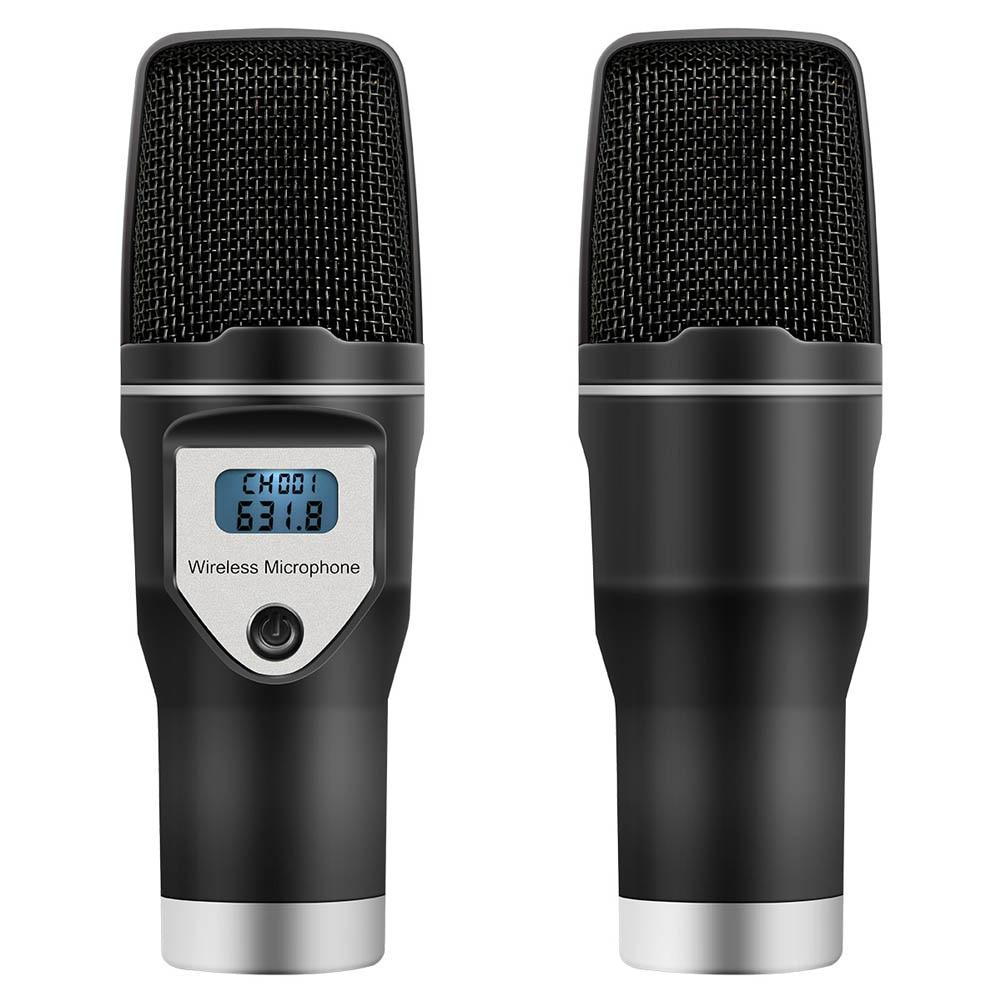Micro USB sans fil Home Studio condensateur micro pour enregistrements Podcast recherche vocale jeux GDeals
