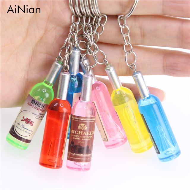 AiNian Couple key chain car key ring pendant keychain phone connected to a mobil
