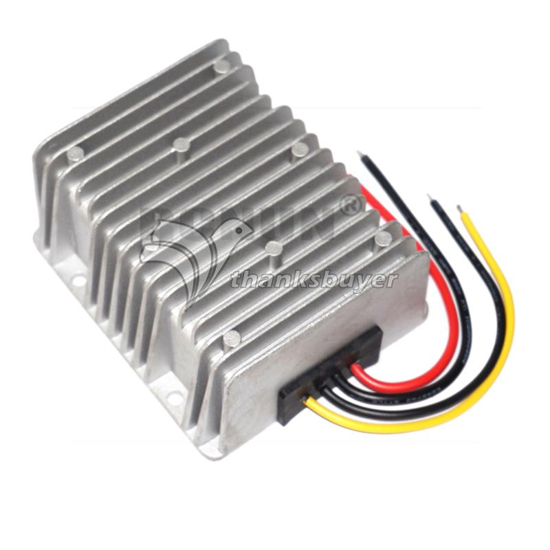 DC-DC Boost Car Power Converter Booster Voltage Regulator 12V TO 24V 20A 480W High Efficiency Waterproof Anti-Seismic 36v 4a 48v power switch synchronous rectification dc dc booster 48v190w liter 36v power converter 3a 2a