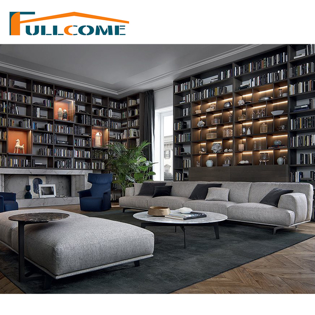China Luxury Home Furniture Modern Fabric Scandinavian Sofa Living Room Feather Italian Corner Sectional Sofas