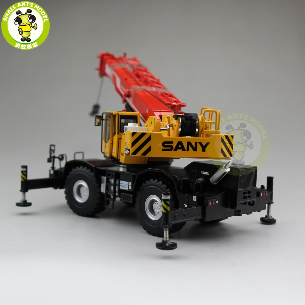 US $94 05 5% OFF|1/50 SANY ROUGH TERRIAN Off road Suspens CRANE SRC865XL  Diecast Metal Model Gift Hobby Collection-in Diecasts & Toy Vehicles from