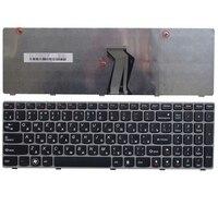 Russia NEW Keyboard FOR LENOVO G580 Z580A G585 Z585 V580 G590 RU Gray Box Laptop Keyboard