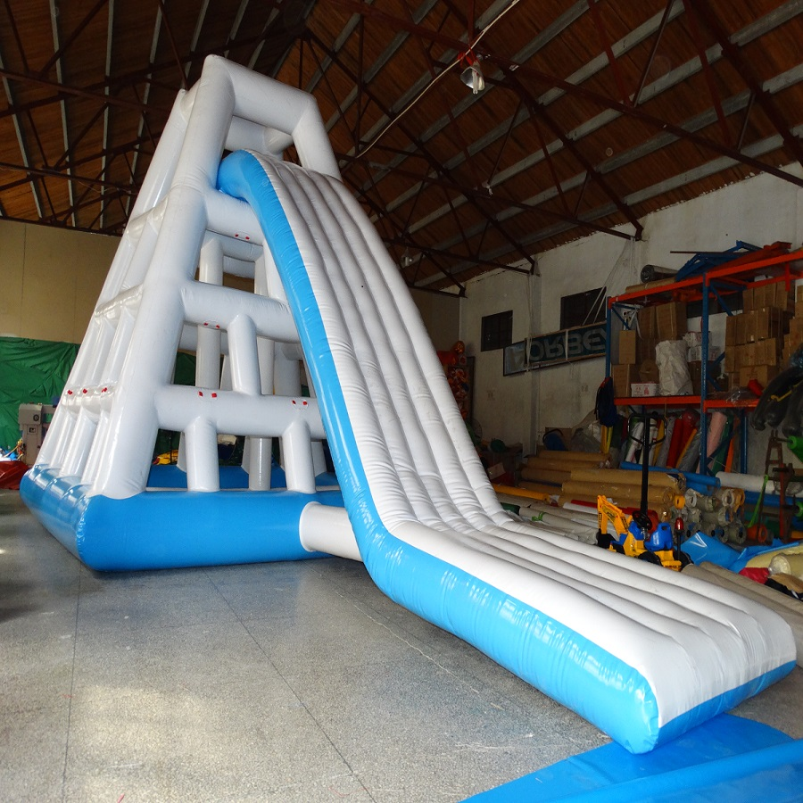 3 years warranty High quality water climbing slides