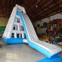 цена на 3 years warranty High quality water climbing slides