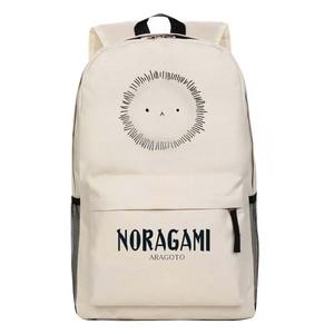 Image 3 - New Cartoon Anime Fashion Childrens School Bag Noragami Backpack  ARAGOTO Yukine Cosplay  backpacksTravel Laptop Book Bags