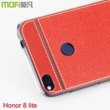 Huawei P8 облегченная Чехол 2017 Mofi 32 ГБ Роскошные искусственная кожа мягкая Coque 64 ГБ Honor 8 Lite случаях мягкий ccover Huawei Honor 8 облегченная Чехол