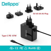 87W USB-C Power Adapter Type-C Charger For Latest Apple Macbook Pro 12 13 15 inch A1706 A1707 A1708 For Dell XPS HP XIAOMI