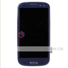 S3 Жк-Дисплей Для Galaxy I747 i535 Сенсорный Дисплей дигитайзер Для Samsung Galaxy S3 I747 Жк С Рамкой Бесплатно доставка + Инструменты(China (Mainland))
