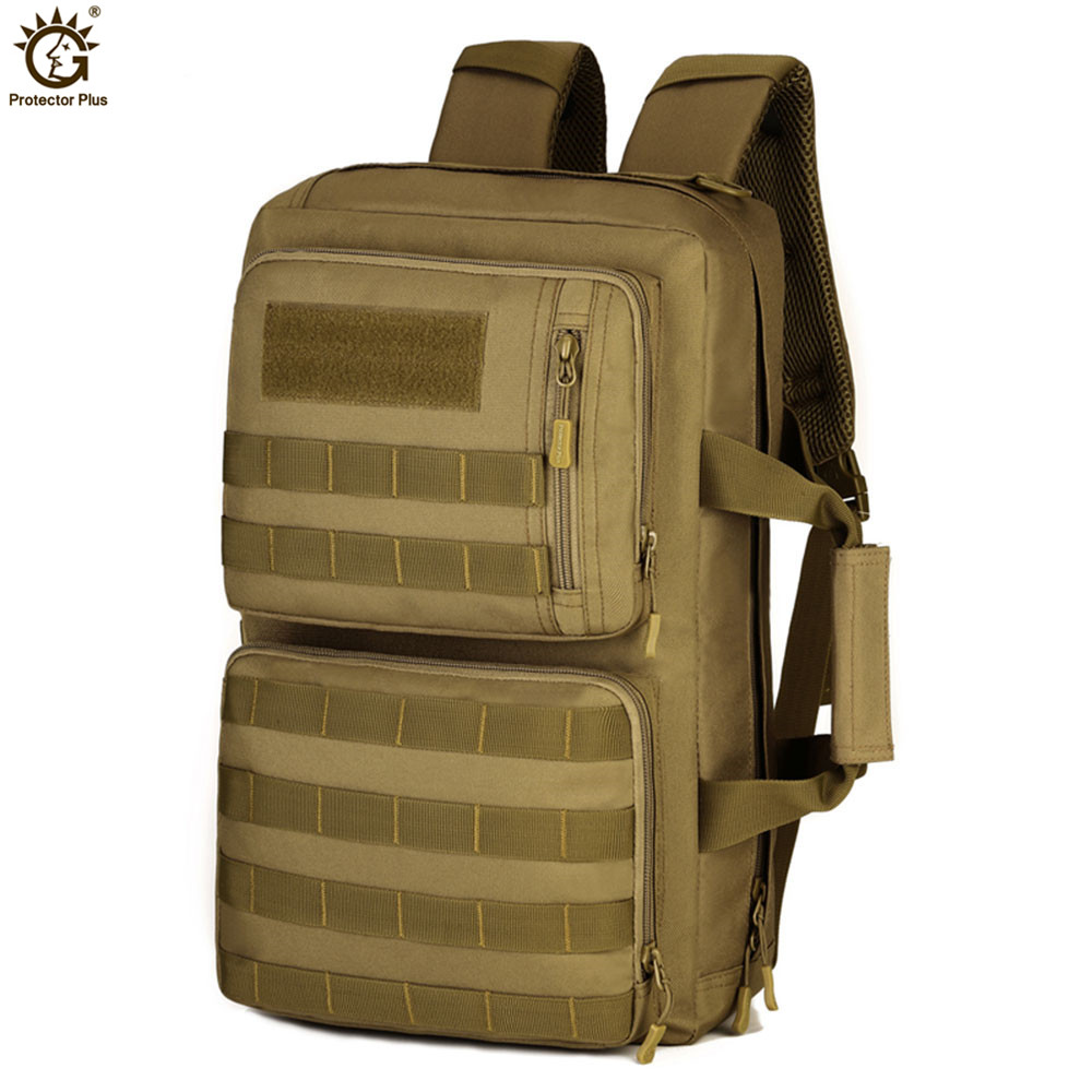 Outdoor 35L Sport Climbing Camping bag 3 Use Shoulder bag Trekking Molle Travel Bag Military Tactical Backpack mochila militar in Climbing Bags from Sports Entertainment