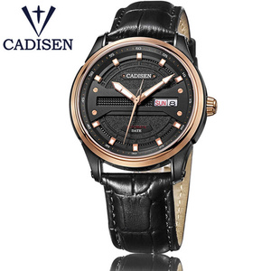 CADISEN Mens Watches Top Brand Luxury Automatic Mechanical Week Clock Male Pilot Military Sports Wristwatch Relogio Masculino