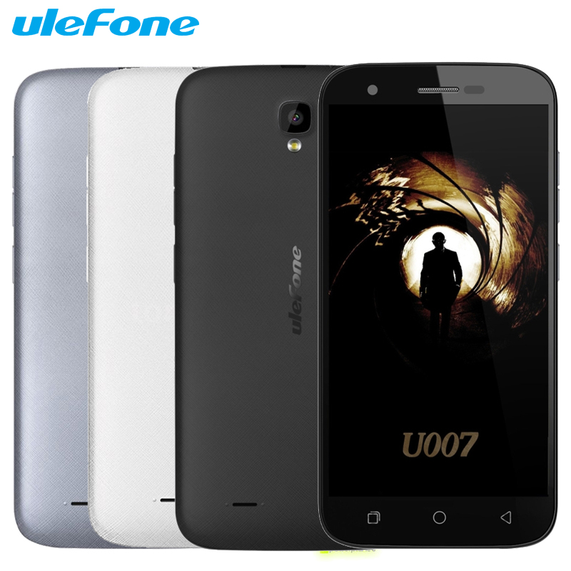 Original Ulefone U007 Cell Phone 1GB RAM 8GB ROM Quad Core MTK6580A 5 0 Inch 1280