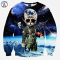Mr.1991INC Stars War Fashion Men/women cartoon 3d sweatshirt funny print space glasses cat police slim long sleeve hoodies tops